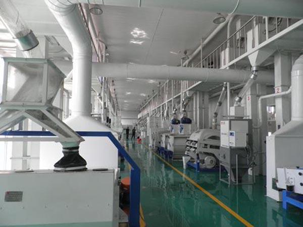 modrern rice mill plant