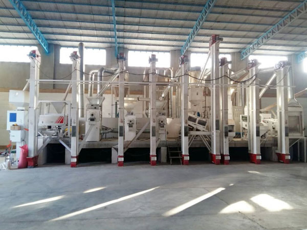 80 TPD rice mill factory machines overview