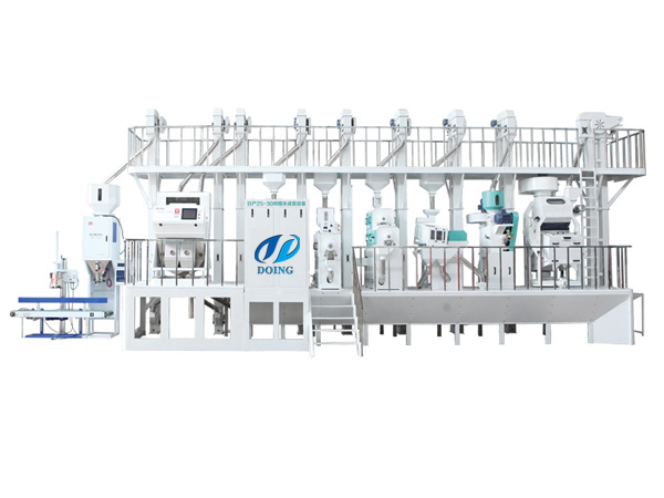 Big automatic rice mill plant