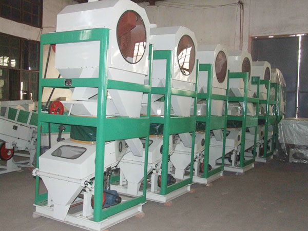 rice mill equipment