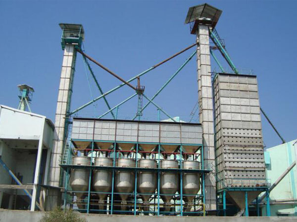 Parboiled rice production line