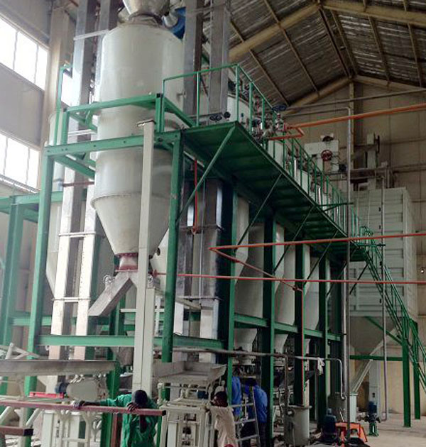 parboiled rice production equipment