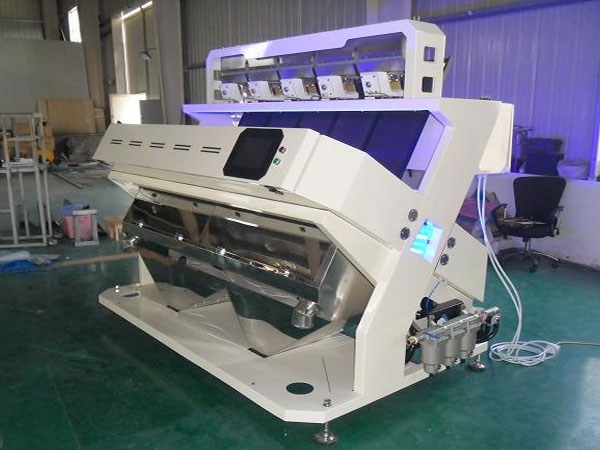 Application of rice color sorter