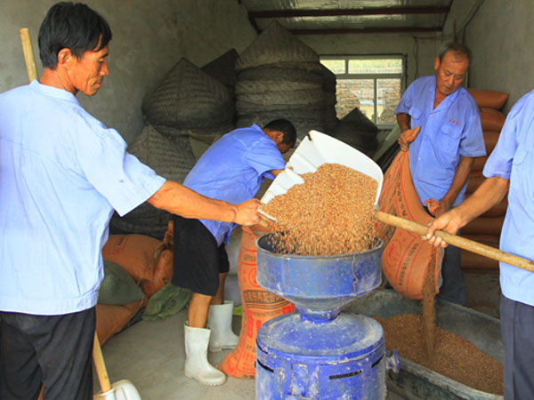 The comparison of traditional rice milling and modern rice mills
