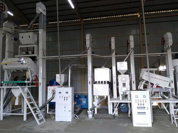 100T/D processing capacity rice processing plant of Jiangsu customer,China