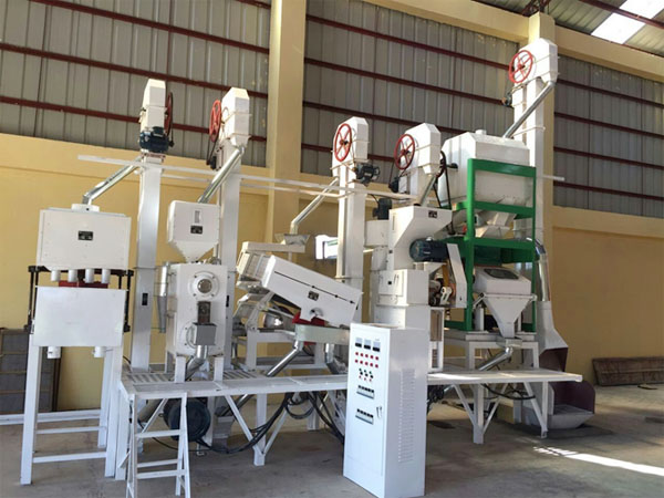 100T/D complete rice milling equipment completed delivered to Jiangsu province,China