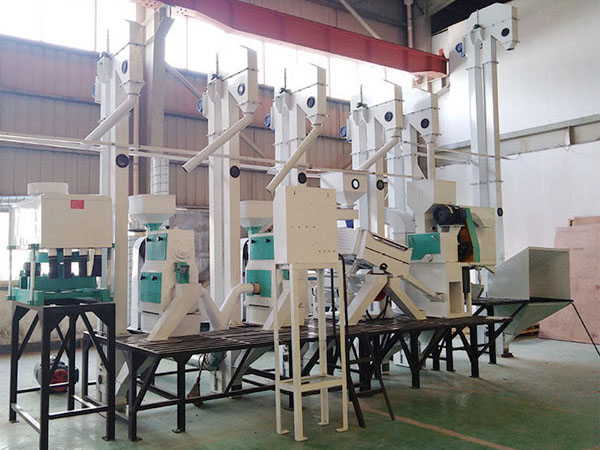 50T/D rice milling equipment completed delivered to Heilongjiang province,China