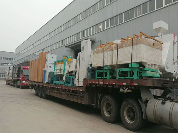 50tpd rice mill delivery to Nigeria